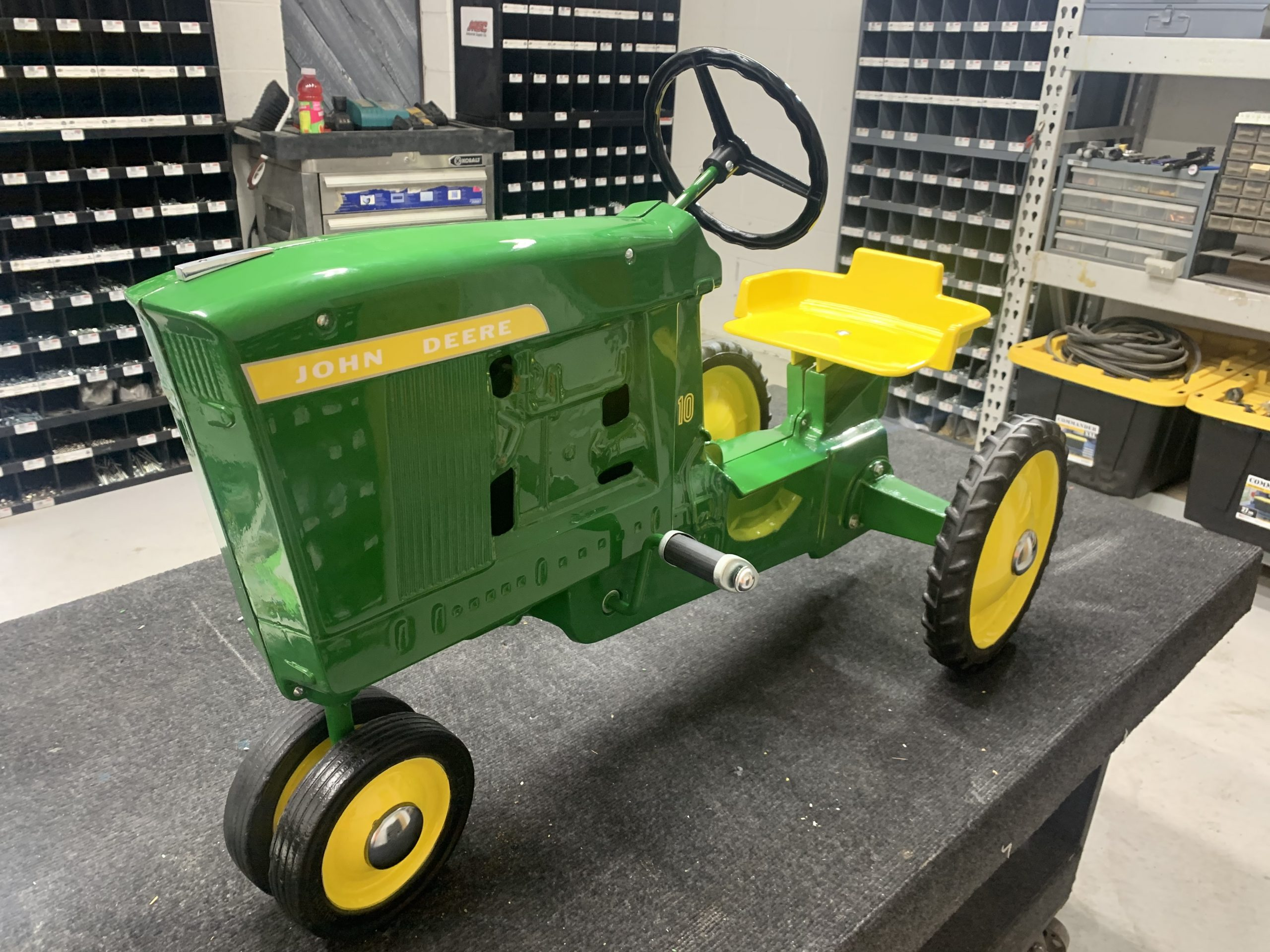 antique pedal tractor